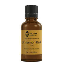 Cinnamon Bark Essential Oil CO2 30mL 100% Pure Undiluted Natural Aromatherapy