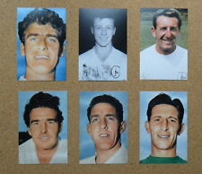 SIX TOTTENHAM HOTSPUR Football Photos>1960s Player Portraits inc Mackay,White