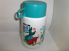 The Little Mermaid`Disney`Teal Cup,Plastic Lunch Box-Thermos`W/SipTop->Free 2 US