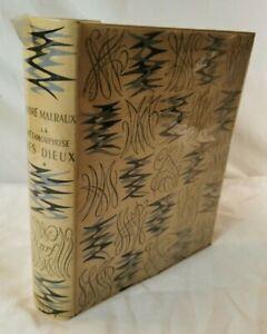 Livre LA METAMORPHOSE DES DIEUX 1957 Andre MALRAUX edition Galerie La Pleiade B5