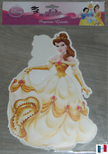 "LOT 2 STCIKERS AUTO-COLLANT ""PRINCESSE DISNEY"" DECORATION MURALE OU MEUBLE NEUF"