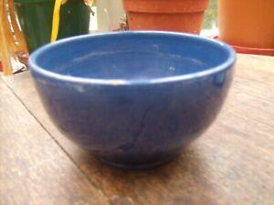 Barum Pottery North Devon Blue Bowl