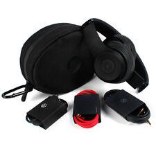 SOLO HD 2.0 DR DRE BEATS WIRELESS MATTE BLACK ON EAR HEADPHONES REFURBIHSED