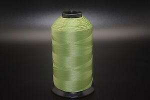 8oz Bright Green T90 2250 Yards Bonded Polyester Sewing Thread #92 Fabric P113