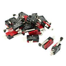 20 Pcs Mini Micro Limit Switch Long Roller Lever Arm SPDT Snap Action R5S4