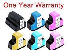 6 non-OEM ink toner cartridge for HP Photosmart C8180 All-in-One inkjet Printer