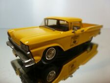 WESTERN MODELS 53 FORD RANCHERO 1959 MACKECHNIE - YELLOW 1:43 - EXCELLENT - 7