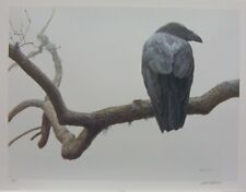 Robert BATEMAN Lone Raven LTD art print sold out at publisher