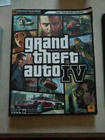 Grand Theft Auto IV Signature Series Brady Games Strategy Guide Book