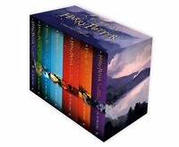 J.K Rowling Harry Potter Complete Collection 7 Books Gift Boxed Set Pack