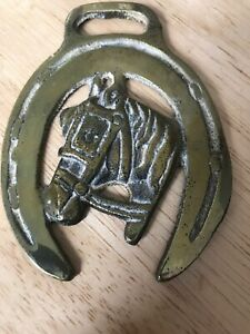 Collectable Vintage Horse Brass Brasses - Shire Horse
