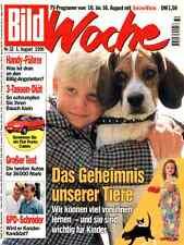 """Zeitschrift """"BILD-Woche"""" Nr. 32 v 1996, Geheimnis der Tiere; Christopher Reeve"""