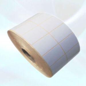 Blank White Self Adhesive Thermal Transwer  Printer Labels Rolls 76X50mm 3x2inch