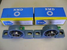 "2 Excellent Quality NMD Brand UCP206-20 1-1/4"" BORE Pillow Block Bearings"
