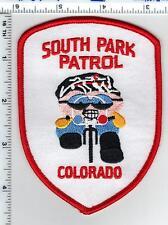 South Park Patrol (Colorado) Shoulder Patch - new