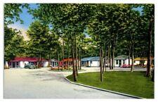 White's Motor Court, Eatontown, NJ Postcard