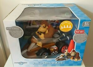 Mario Kart Wii Remote Control Large Donkey Kong Kart Nintendo 1:8 New in Box