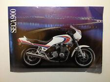 1983 Yamaha SECA 900 motorcycle dealer sheet VINTAGE - ENGLISH CANADA