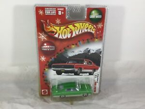 Hot Wheels 1967 Charger #H4682  2004 Holiday Rods #1/4 Larry Wood Design Green