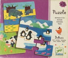 DJECO PUZZLE Animaux & Co