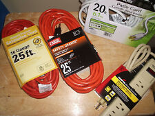 Electrical Extension Cord Package Lot