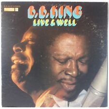 BB KING: Live and Well USA Bluesway 60s ORIG Vinyl LP Blues VG++ Super!
