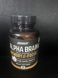 onnit alpha brain 30