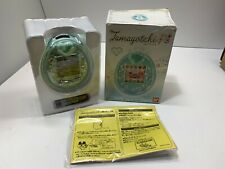 BANDAI Tamagotchi P's Green 2012 Virtual Pet Game Brand New