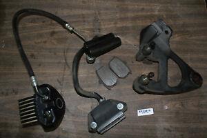 rear brake caliper + mount + master cylinder FXRS-SP Harley FXR FXRT EPS23878