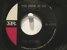 The Hollies Pair of Singles Imperial 66119, 66240  I'm Alive  Pay You Back