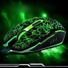 Cool 4000 DPI Mice 6 LED Buttons Wired USB Optical Gaming Mouse