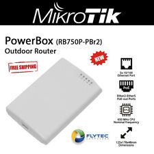 Mikrotik PowerBox Rb750P-Pbr2 5 Port Outdoor Router with PoE Output on 4 Ports