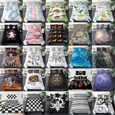 Multicolor Comforter Bedding Set Bed Cover Duvet Cover Pillowcases 30+ Designs