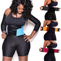 HOT Waist Trainer Women Sauna Sweat Thermo Yoga Sport Shaper Wrap Belt Slim Fit