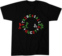 A Tribe Called Quest Circle Promo T-Shirt - Classic Hip-Hop