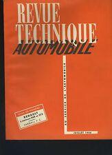 (34B) REVUE TECHNIQUE AUTOMOBILE  RENAULT MOTEURS 568 -572 / TRACTEUR FARMALL FC