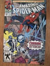 Amazing Spider-Man # 359 (1992) First Cameo Appearance Carnage Key Fn.