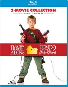 Home Alone 1 + Home Alone 2 Lost In New York Double Feature RegB Blu-ray Digital