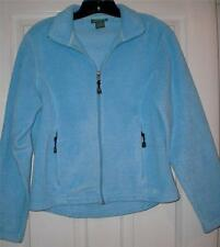 LL BEAN WOMENS ZIP UP BLUE SIZE SMALL HIKING OUTDOORS WEAR LONGSLEEVE SHIRT