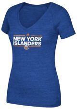 "New York Islanders Women's Adidas NHL ""Dassler"" Tri-Blend Premium T-shirt"