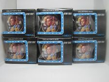 "Star Trek Original Series TOS ""Captain James T. Kirk"" Coffee Mug Enesco Set of 6"