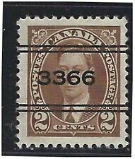Canada Precancels - ON - Kitchener - 2-232 - 2c brown KGVI 1937