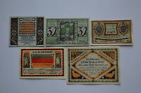 TONNDORF-LOHE NOTGELD 20,30,50 PFG, 1, 2 MARK 1921 EMERGENCY MONEY GERMANY (7055
