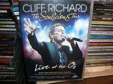 Cliff Richard - The Soulicious Tour (DVD, 2011)