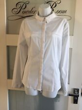 Bnwt Long Sleeves White Shirt/Blouse Size 18 Primark