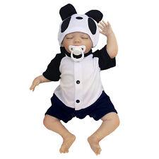 """18"""" Reborn Baby Boy Doll Newborn Lifelike Dolls Soft Silicone Handmade Toy Pro"""