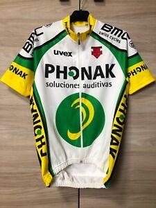 Descente Phonak Vintage Cycling Jersey Shirt Maglia Trikot Men's size M