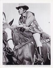 DEAN MARTIN Cowboy CANDID Studio Set Vintage TEXAS ACROSS RIVER Universal Photo