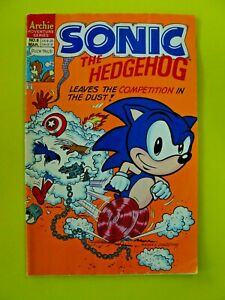 Sonic the Hedgehog #8 - Marvel/DC Characters implied on cover - VG - Archie