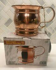 *NEW* Unique ODI Solid Copper Moscow Mule Mug 16 oz.